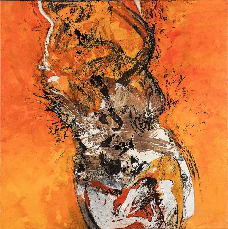 Paul Brunner - peinture - Mobile-Immobile