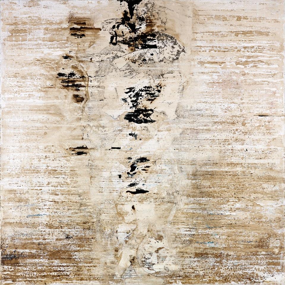 Paul Brunner - peinture - Présence-Absence