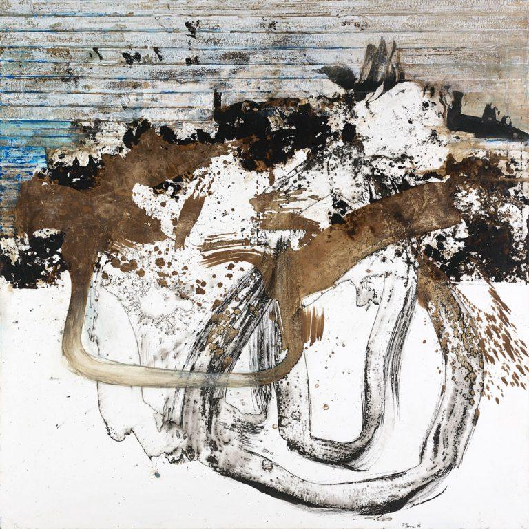 Paul Brunner - peinture - Rive-Dérive