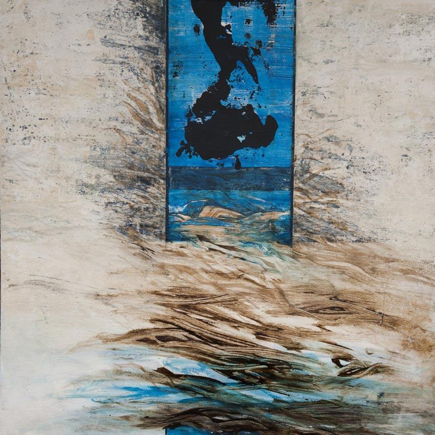 Paul Brunner - Paysage cursif
