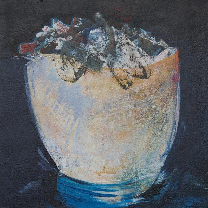 Paul Brunner - peinture - Contenant - contenu
